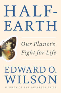 Half-Earth cover E. O. Wilson