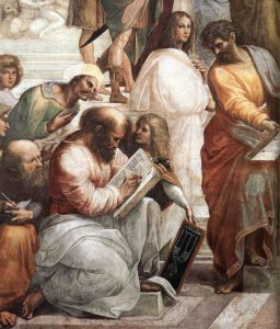 "Pythagoras in ""The School of Athens"""