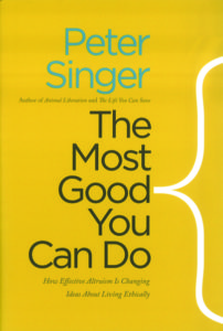 The Most Good You Can Do by Peter Singer cover
